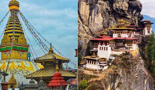 Nepal Bhutan