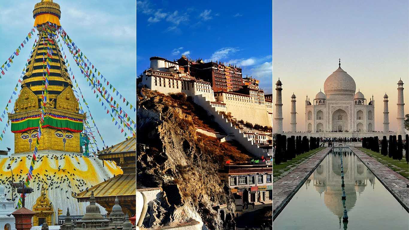 Nepal Tibet India