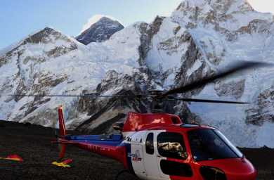 Helicopter Tours in Everest Region Nepal