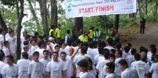 Trekking Workers Running Championship – 2013 organized by TAAN