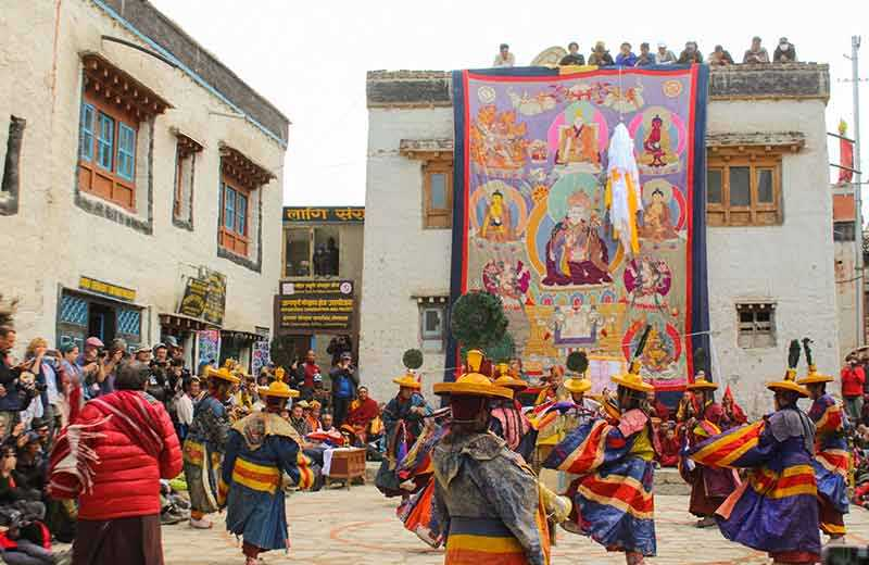 Exciting Tiji Festival In Upper Mustang