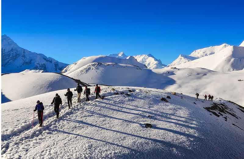 Vandring i Annapurna Nepal (Trekking in Annapurna Nepal)