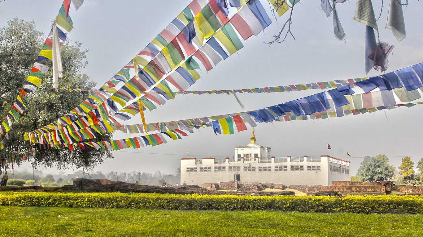Mayadevi Temple in Lumbini
