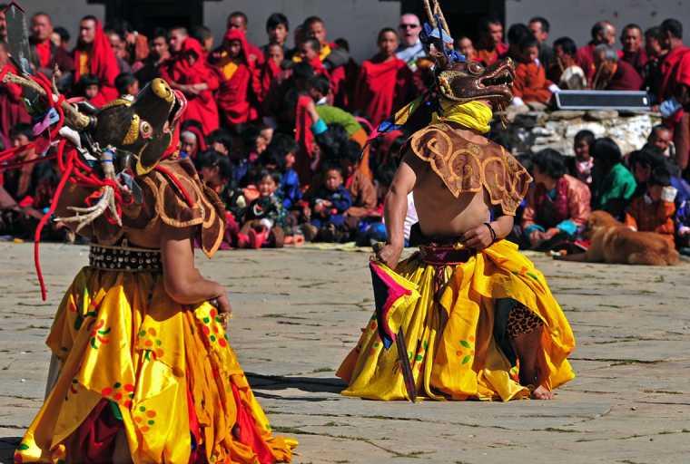 Paro Festival (Paro Tshechu) with Bhutan Tour