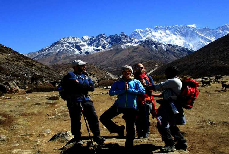 Everest View Trek with Overland Tibet Tour (Drive in/Fly out)