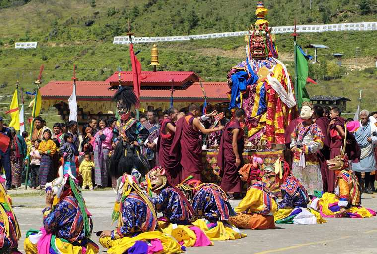 Punakha Dromche Festival Tour